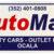 Auto Max License Plate, PE White