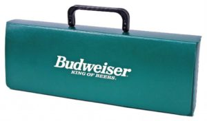 Budweiser Presentation Tote, PE Green