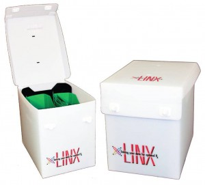 Linx Product Totebox, PE Frost