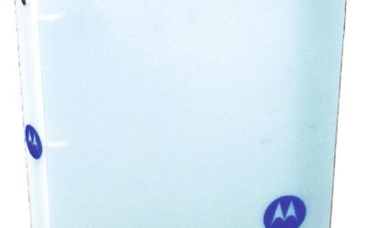Motorola Marketing Binder, PE Frost
