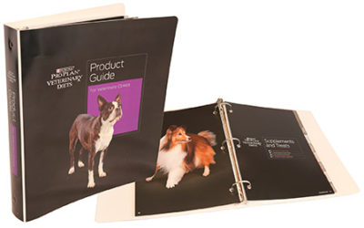 Purina Product Guide Binder, PE White