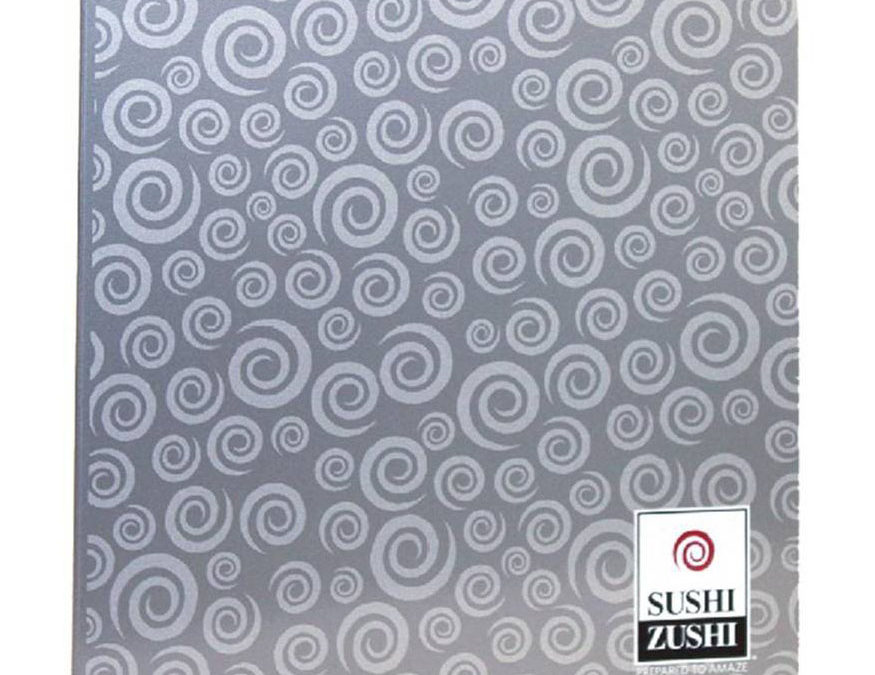 Sushi Zushi Menu Folder, PE Black