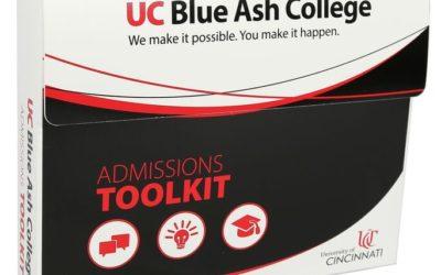 Univ Cincinnati Admissions Kit, PE White